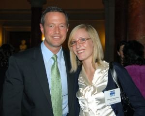 Governor O'Malley with Katherine from Clean Currents